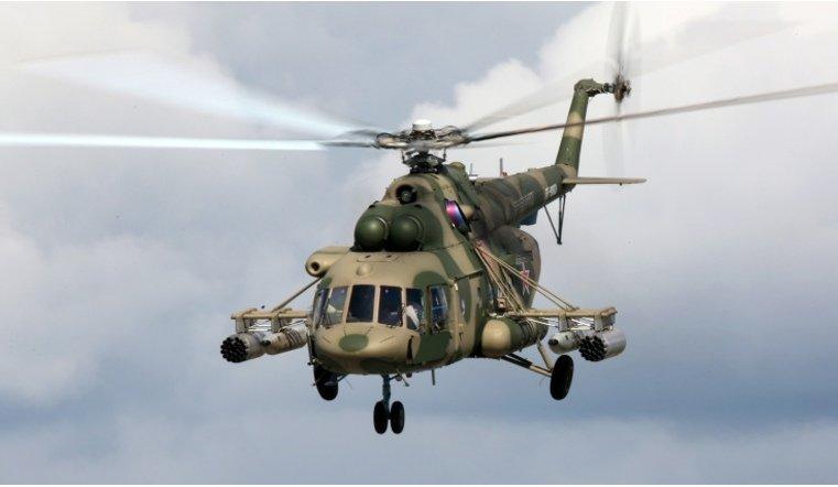 На Южном Урале после жесткой посадки загорелся военный вертолет