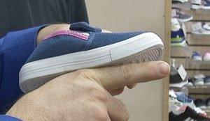 Проверка качества детской обуви