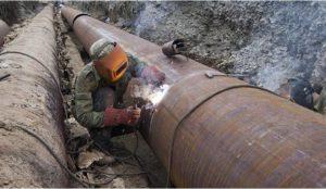 В Челябинске на Машиностроителей идет ремонт теплотрассы