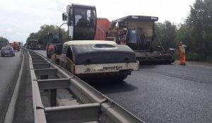 В Челябинске на Меридиане продолжаются ремонтные работы
