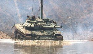 Учения танкистов ЦВО