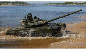 Челябинские танки форсировали водоемы Урала