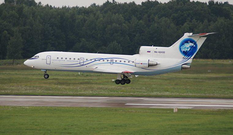 В аэропорту Челябинска экстренно сел самолет