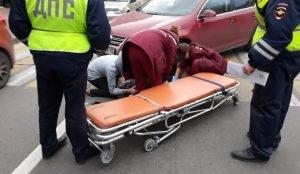 В Магнитогорске иномарка сбила школьника на пешеходном переходе