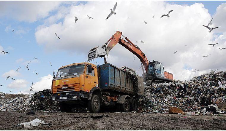 Предчрезвычайная ситуация сложилась в Челябинске с невывозом мусора
