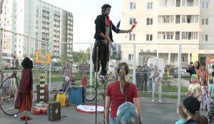 Уличные артисты в Челябинске