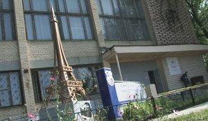 Эйфелева башня в Челябинске