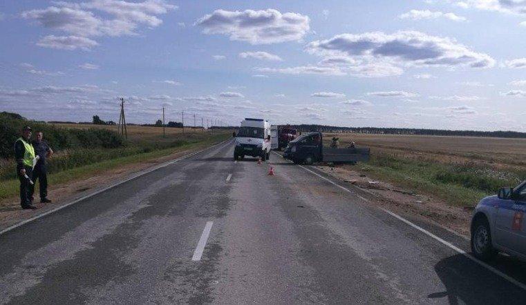 Бесправник на грузовике устроил ДТП в Чесменском районе
