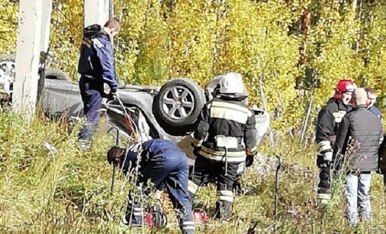 Водитель и пассажирка погибли в ДТП под Озёрском