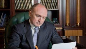 Губернатор Дубровский встретился с руководителем аппарата президента