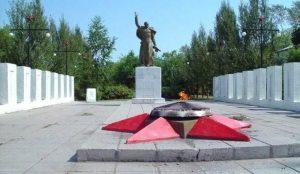 В Коркино неизвестные затушили Вечный огоньь