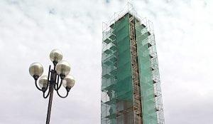Реконструкция городских часов