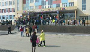 Открытие новой школы в Челябинске