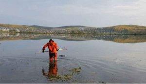 В миасском пруду обнаружили тело женщины