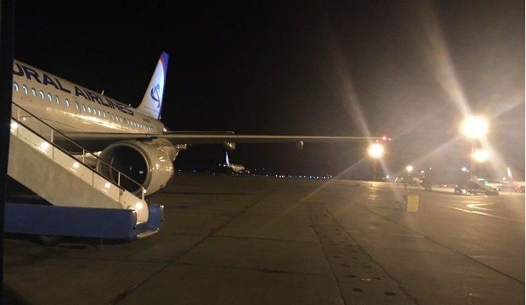 Самолеты из Екатеринбурга отправили в Челябинск из-за сильного ветра