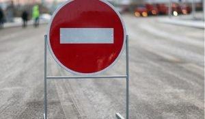 На Свердловском проспекте закрыли движение почти на неделю