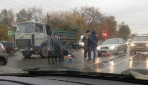 В Челябинске девушка за рулем сбила женщину