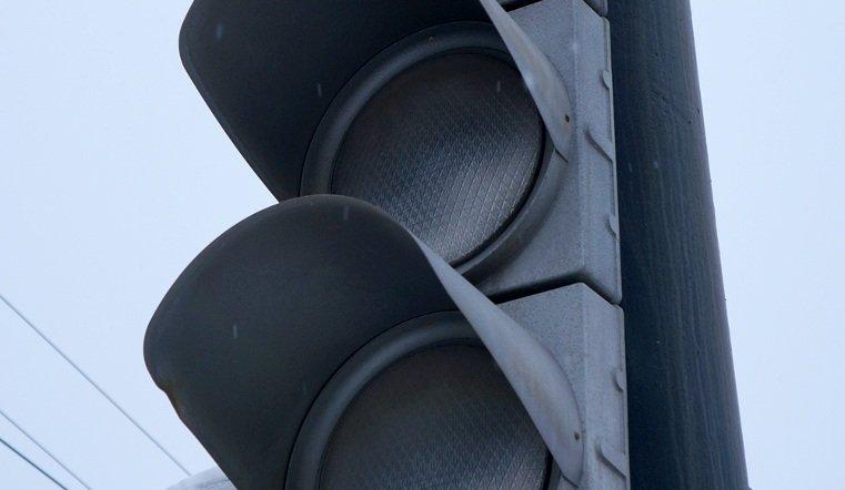 В центре Челябинска не работают светофоры
