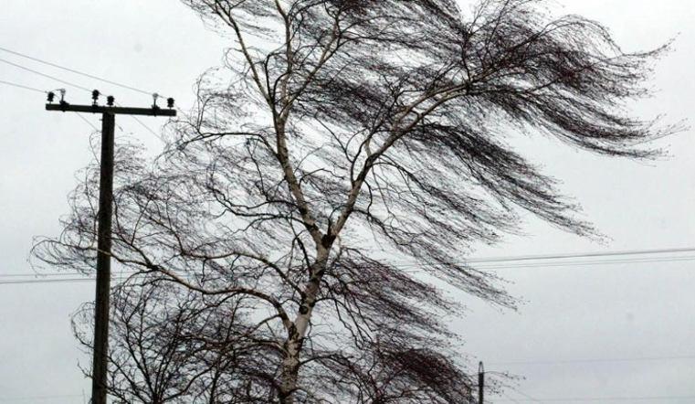 На Южный Урал идет штормовой ветер