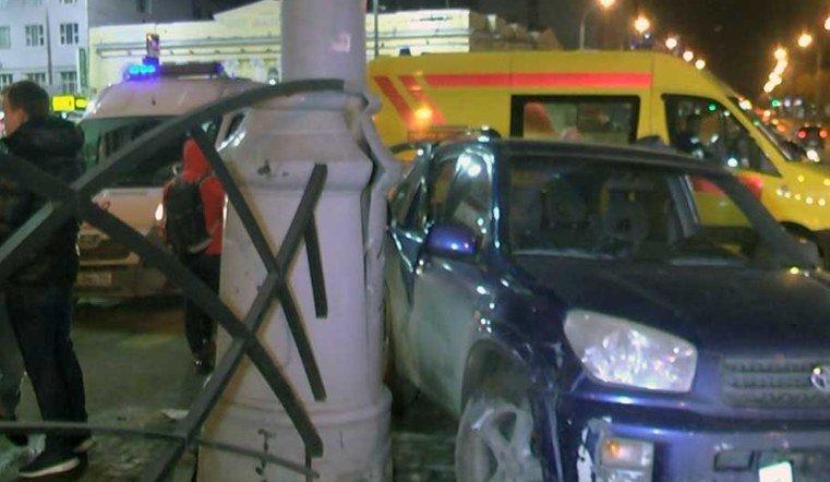 Челябинец попал в ДТП в Екатеринбурге