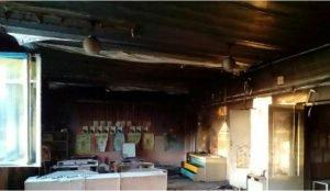 Сгорел детский сад на Южном Урале
