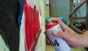 Студенты занимались рекламой наркотиков, рисуя граффити