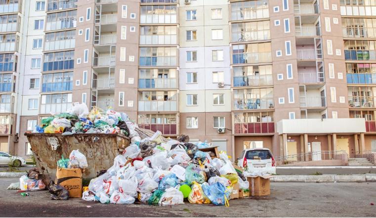 В Челябинске снова появилась мусорная проблема