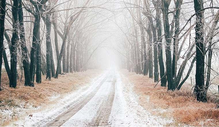 Снова зима. Похолодает на Южном Урале