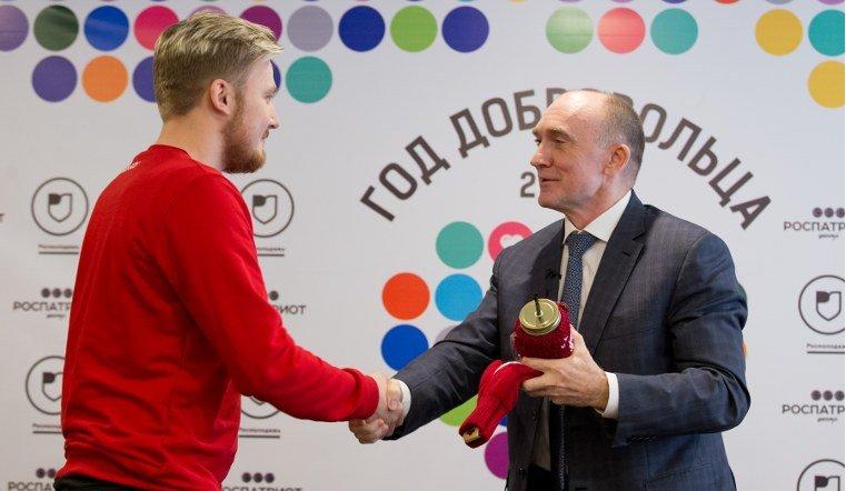 Дубровский встретился с волонтерами