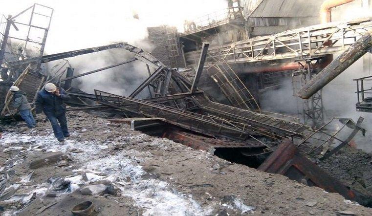 В итоге обрушения наММК умер рабочий