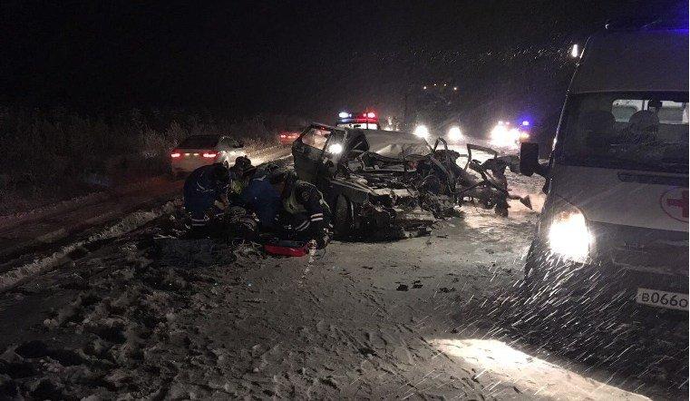 Авария у села Миасское унесли жизни двоих человек