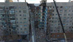 Частично разрушенный дом в Магнитгорске снова подключат к газу