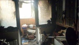 В Челябинске сгорели три человека