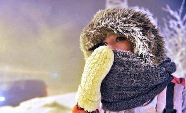 Погода на Новый год. Сильные морозы идут на Урал