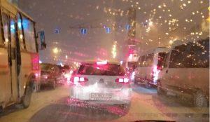 В Челябинске вечерние пробки