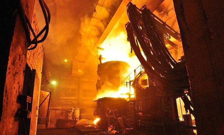 Пожар на ЧМК. Расплавленный металл унес жизни двоих людей