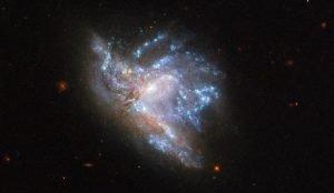 Ученые запечатлели космическую катастрофу