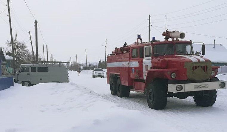 Остались дома одни. Трое детей погибли на пожаре в Челябинской области