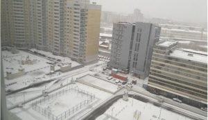 На Урал вернулась зима в апреле