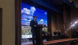 Алексей Текслер в Южно-Уральском аграрном университете