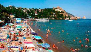 Стала известна цена одного дня отдыха в Крыму