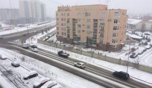 Челябинск замело снегом