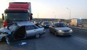 Женщина погибла в аварии на подъезде к Челябинску