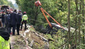 Россияне пострадали в аварии с автобусом на трассе в Италии