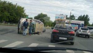 ДТП на Бажова в Челябинске