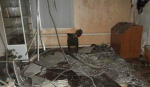Пожар чуть не уничтожил музее в Агаповке