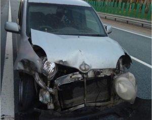 Авария на трассе Челябинск-Екатеринбург