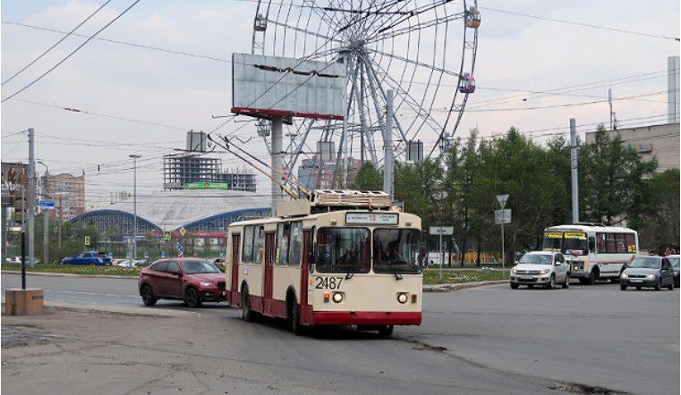 Кондуктору стало плохо в челябинском троллейбусе