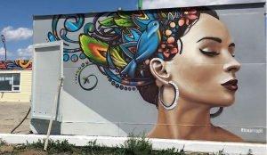 Челябинский художник-граффитист преобразил заправку