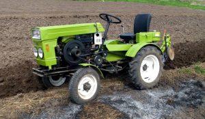 В Челябинсекой области изготовили мини-трактор для Ветерана войны